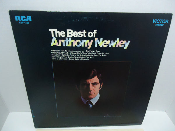 Anthony Newley ‎– Best Of Anthony Newley LP Canada
