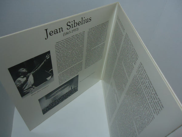 Jean Sibelius, The Gothenburg Symphony Orchestra, Neeme Järvi ‎– Symphonies Nos. 1 And 2 / Romance In C Major / Finlandia [Double LP] [Gatefold]