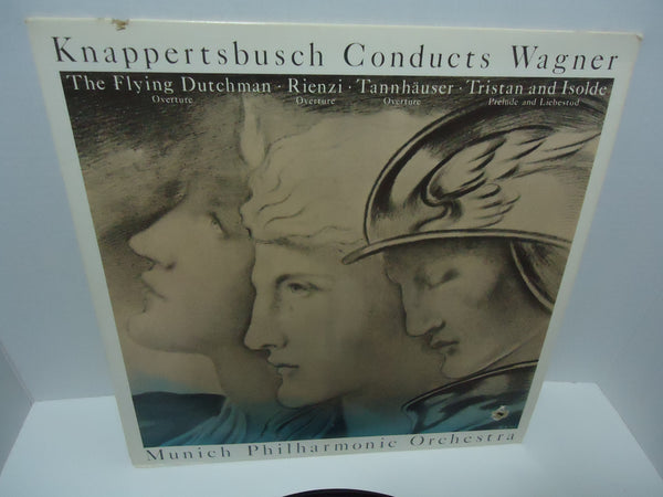Knappertsbusch Conducts Wagner - Munich Philharmonica Orchestra LP MCA 1413