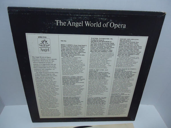 Various ‎Artists – The Angel World Of Opera