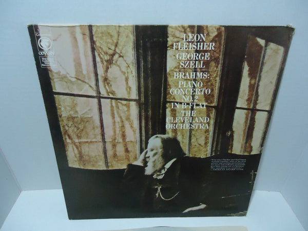 Leon Fleisher, The Cleveland Orchestra & George Szell / Brahms ‎– Concerto No. 2 In B-Flat Major LP