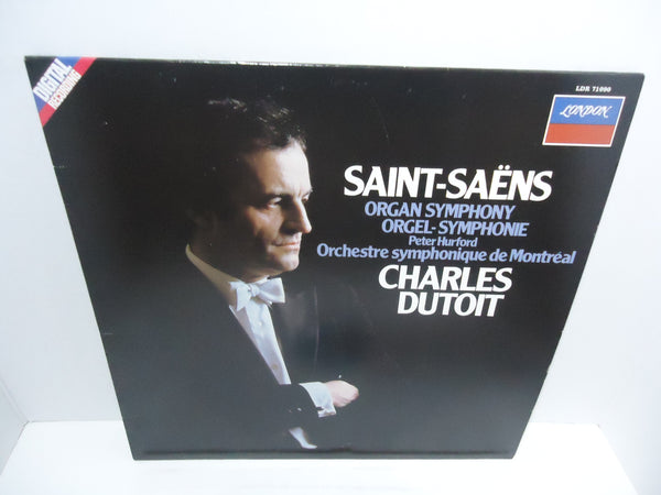 Charles Dutoit ‎– Organ Symphony [Re-issue]  [Import] LP