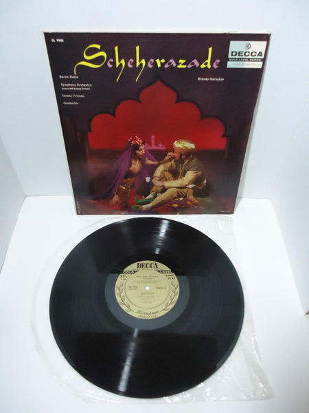 Berlin Radio Symphony Orchestra, Ferenc Fricsay ‎– Scheherazade LP