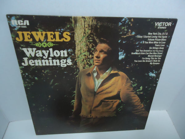 Waylon Jennings ‎– Jewels LP