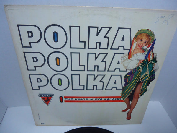 The Kings Of Polkaland ‎– Polka Polka Polka LP Canada