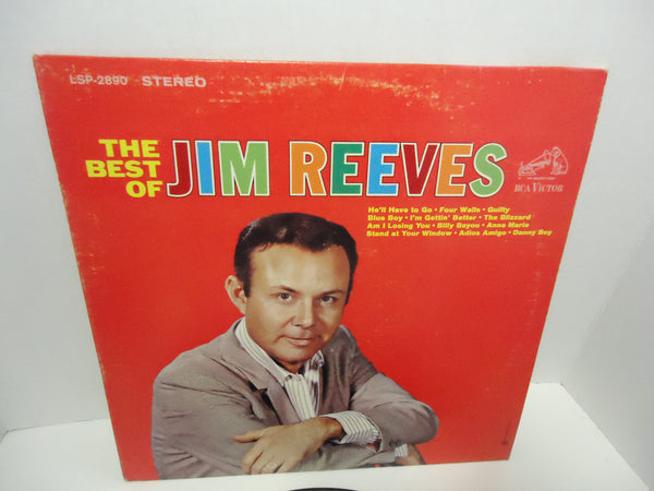 Jim Reeves ‎– The Best Of Jim Reeves