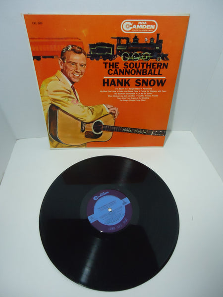 Hank Snow ‎– The Southern Cannonball [Mono] LP