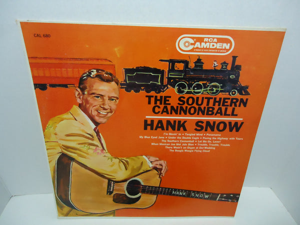 Hank Snow ‎– The Southern Cannonball [Mono]