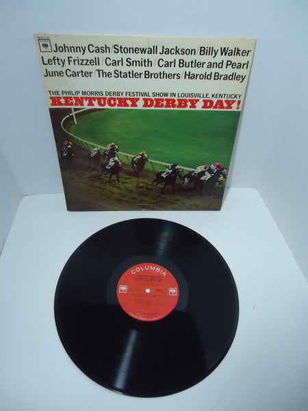 Various ‎Artists – Kentucky Derby Day! [Promo] [Mono] LP