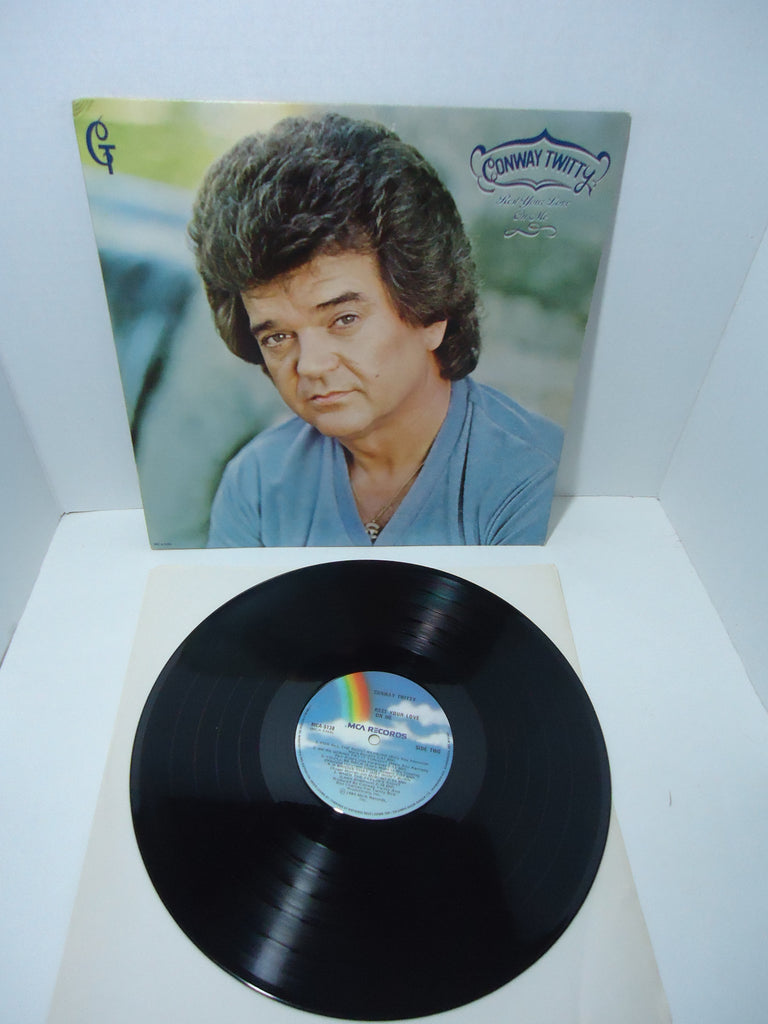 Conway Twitty ‎– Rest Your Love On Me LP