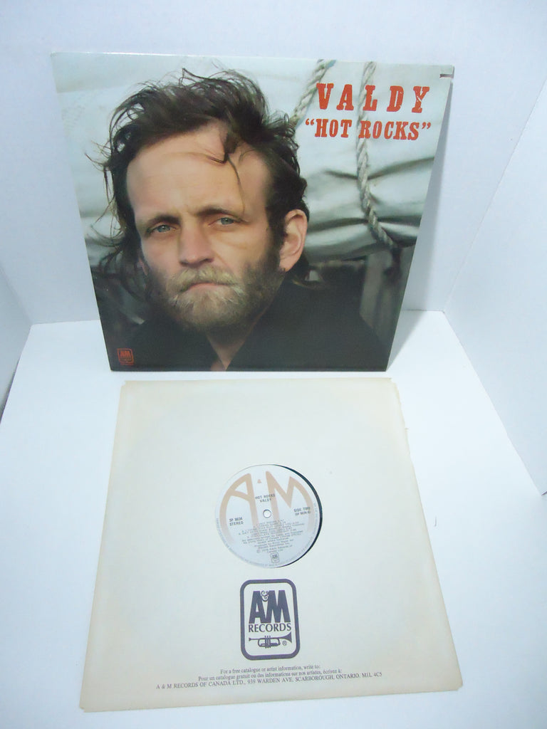 Valdy ‎– Hot Rocks LP