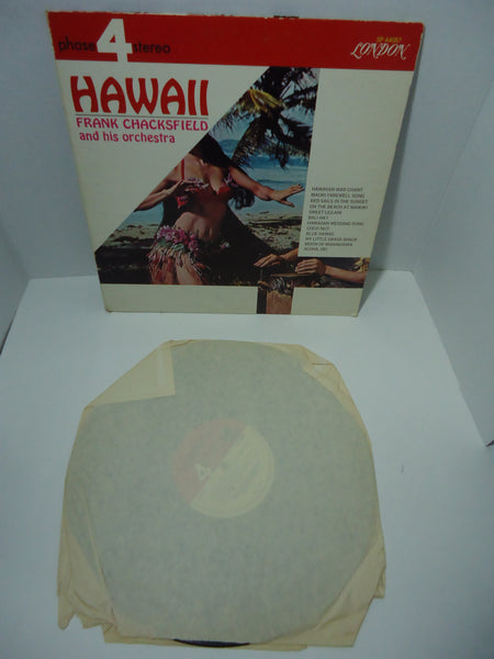 Frank Chacksfield And His Orchestra ‎– Hawaii [Re-issue] LP