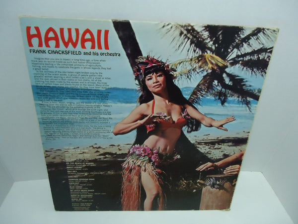 Frank Chacksfield And His Orchestra ‎– Hawaii [Re-issue]