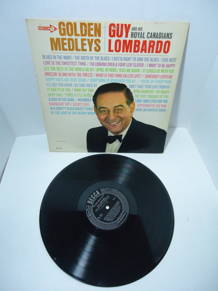 Guy Lombardo And His Royal Canadians ‎– Golden Medleys LP