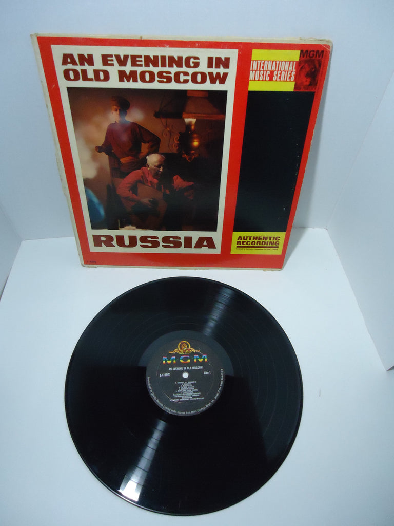 The Russian Balalaika Orchestra ‎– An Evening In Old Moscow Quality Records Canada LP