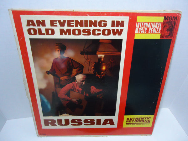 The Russian Balalaika Orchestra ‎– An Evening In Old Moscow