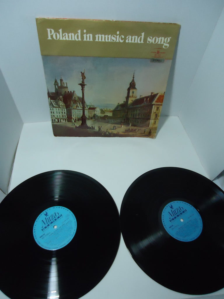 Various Artists ‎– Poland In Music And Song [Import] [Double LP] [Gatefold]