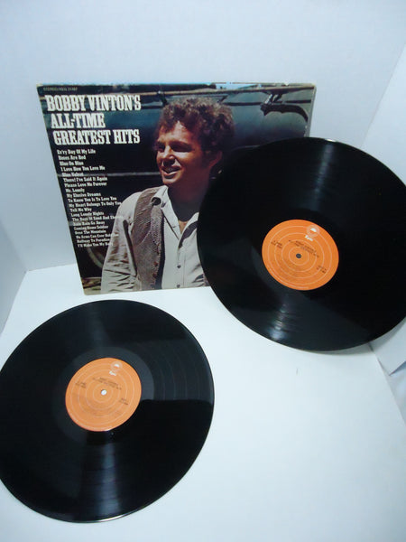 Bobby Vinton ‎– Bobby Vinton's All-Time Greatest Hits [Double LP] [Gatefold]