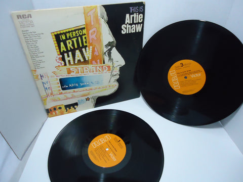 Artie Shaw ‎– This Is Artie Shaw [Double LP] [Gatefold] [Mono] LP