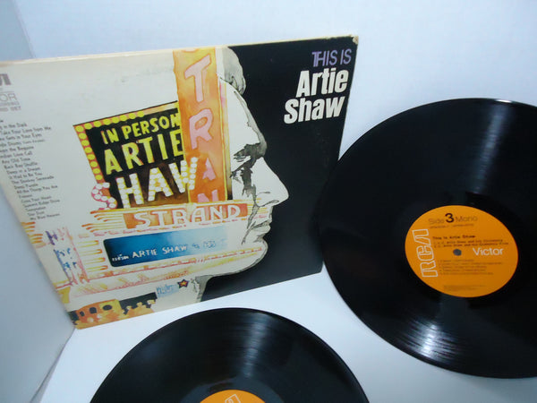 Artie Shaw ‎– This Is Artie Shaw [Double LP] [Gatefold] [Mono]