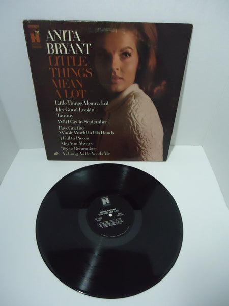Anita Bryant ‎– Little Things Mean A Lot Compilation LP record