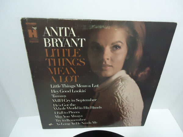Anita Bryant ‎– Little Things Mean A Lot