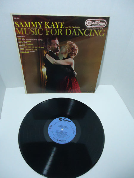 Sammy Kaye And His Orchestra ‎– Music For Dancing LP RCA Camden Canada