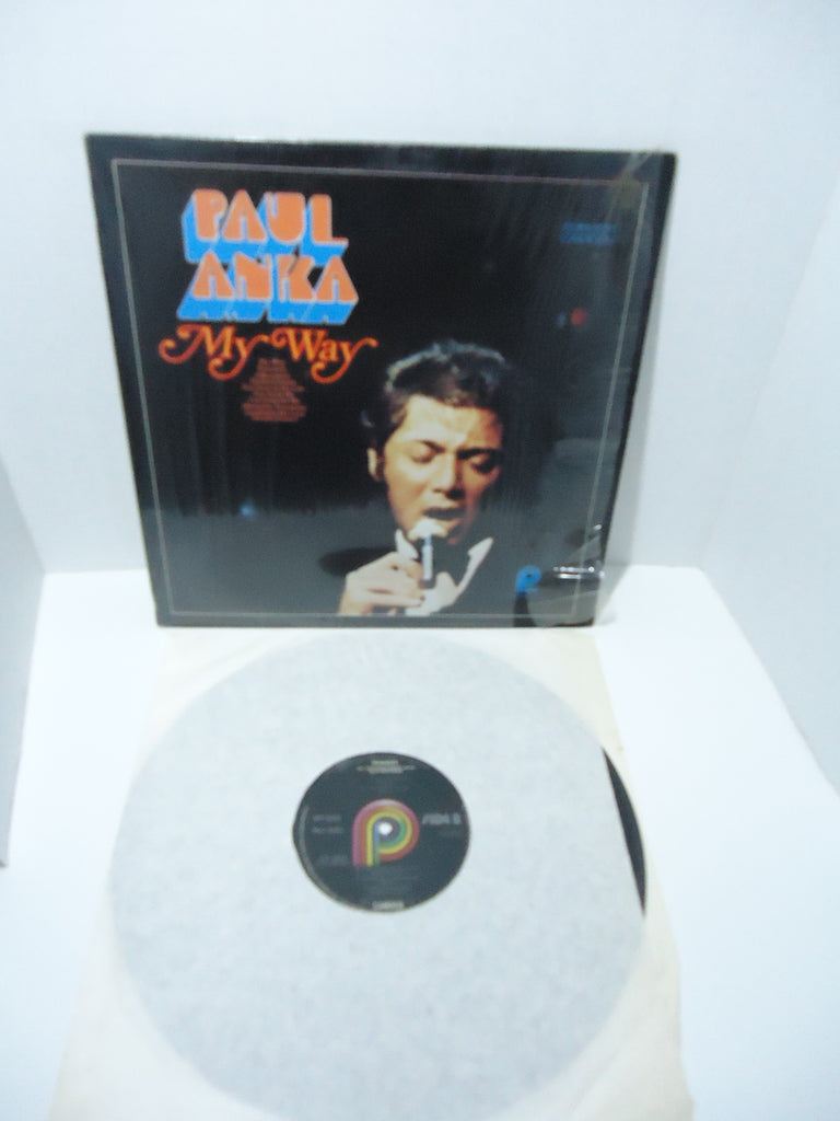 Paul Anka ‎– My Way LP