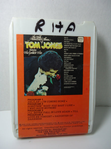 Tom Jones - 10th Anniversary Album 8 Track
