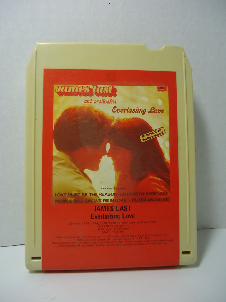 James Last And Orchestra ‎– Everlasting Love 8-track