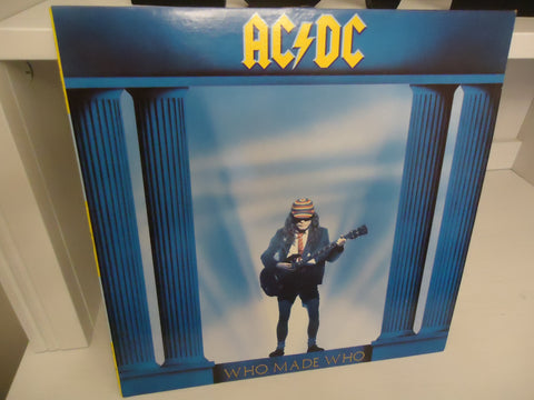 AC/DC ‎– Who Made Who (Maximum Overdrive Soundtrack) Canada LP
