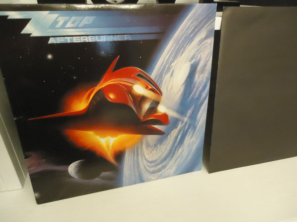 ZZ Top ‎– Afterburner [Cinram Pressing] LP