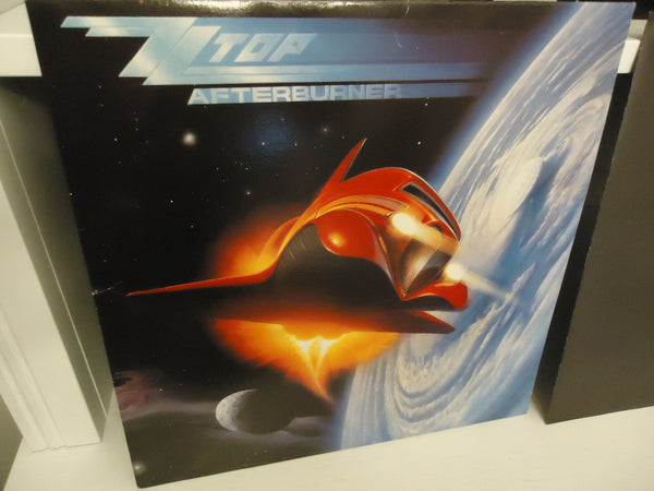 ZZ Top ‎– Afterburner [Cinram Pressing]