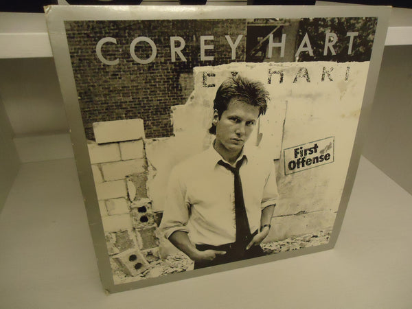 Corey Hart ‎– First Offense [Re-issue] Canadian LP