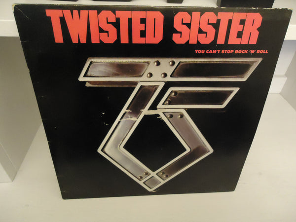 Twisted Sister ‎– You Can't Stop Rock 'N' Roll LP Canada