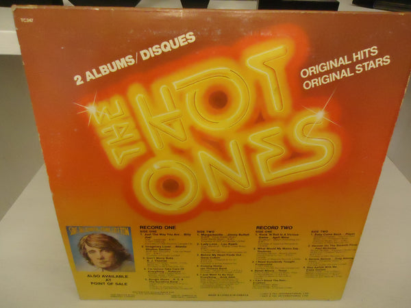Various ‎Artists – The Hot Ones [Double LP] [K-Tel]