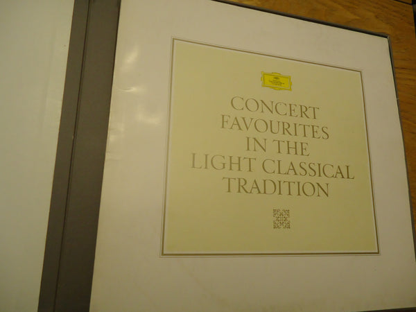 Concert Favourites In The Light Classical Tradition [Box Set] [Compilation] [10 LPs]