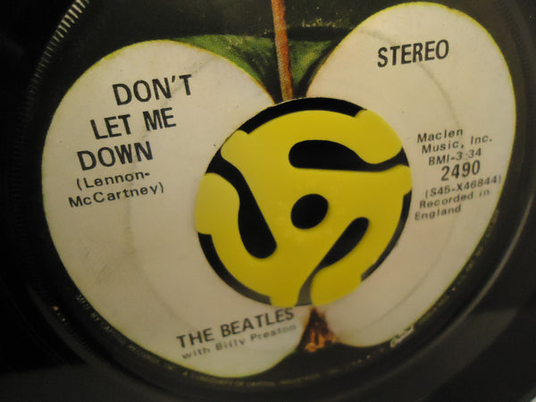 The Beatles ‎– Get Back / Don't Let Me Down