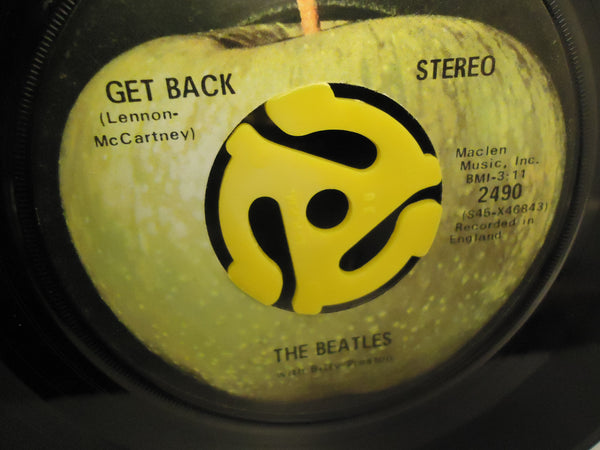 "The Beatles ‎– Get Back / Don't Let Me Down 7"" Vinyl Single"