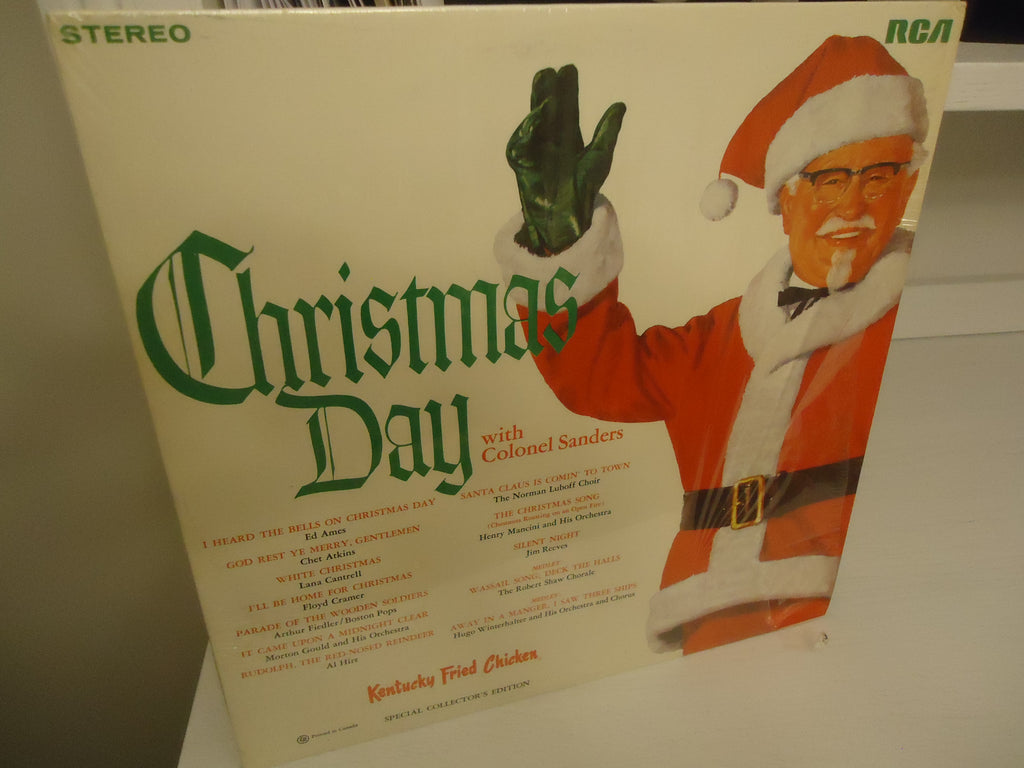 Various Artists ‎– Christmas Day With Colonel Sanders LP