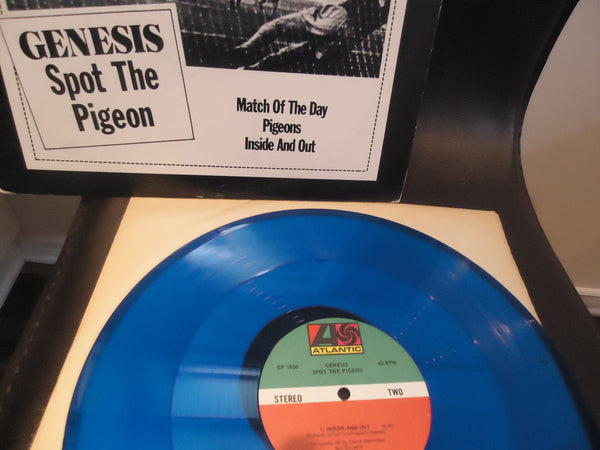 "Genesis ‎– Spot The Pigeon [12"" EP] [Limited Edition, Blue Vinyl]"