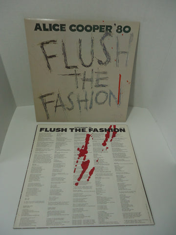 Alice Cooper ‎– Flush The Fashion LP