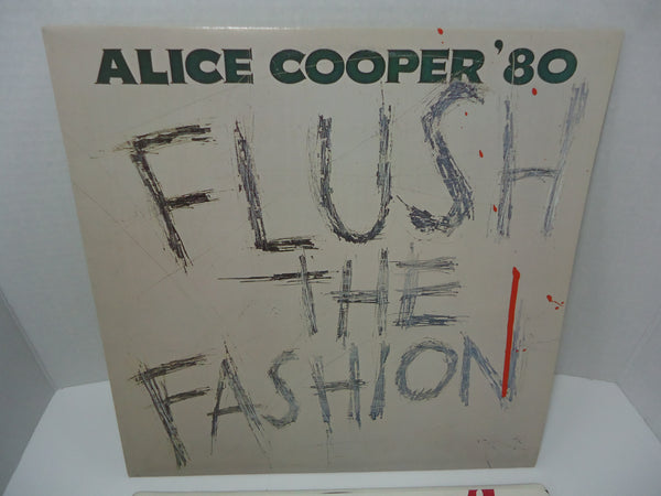 Alice Cooper ‎– Flush The Fashion