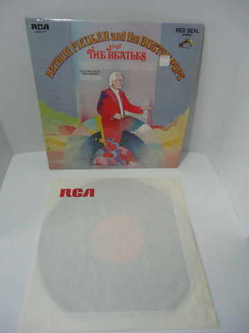Arthur Fiedler And The Boston Pops ‎– Play The Beatles LP