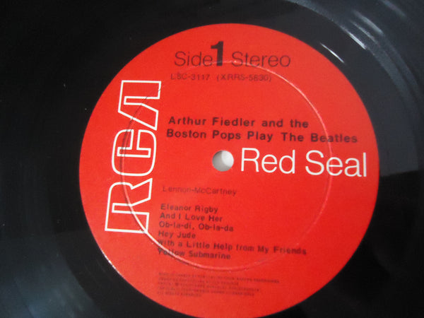 Arthur Fiedler And The Boston Pops ‎– Play The Beatles