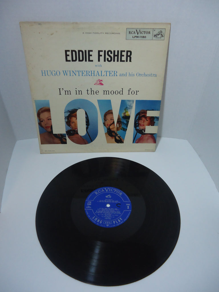 Eddie Fisher ‎– I'm In The Mood For Love LP Canada