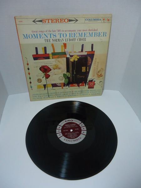 The Norman Luboff Choir ‎– Moments To Remember LP Canada
