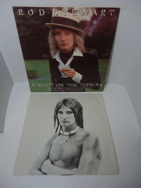 Rod Stewart ‎– A Night On The Town LP USA