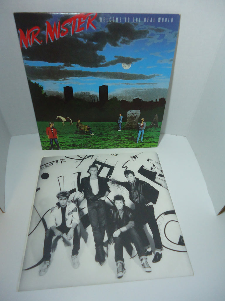Mr. Mister ‎– Welcome To The Real World [Reissue] LP