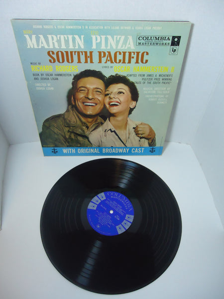 Mary Martin, Ezio Pinza, Richard Rodgers / Oscar Hammerstein 2nd ‎– South Pacific With Original Broadway Cast LP